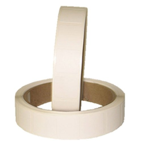 "1"" Sq. White Pasters, Per Roll"