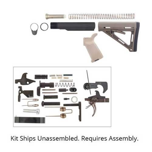 AR-15 MOE Lower Parts Kit, FDE