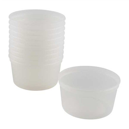 8 oz. ACRAGLAS GEL Mixing Dishes, per 10
