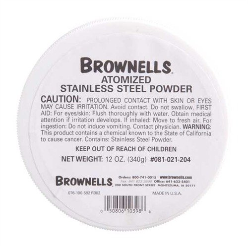 12 oz. Atomized Stainless Steel