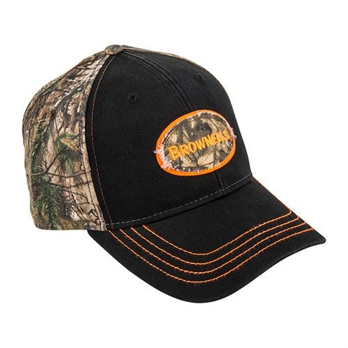 Realtree AP Xtra & Black Cap with Round Logo