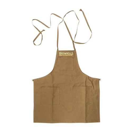 Short Premium Shop Apron with O-Ring