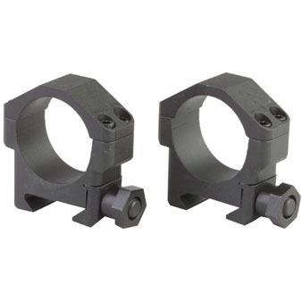 30mm Medium Steel Scope Rings
