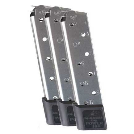 1911 10-Round SS Power Plus Magazine, 3 Pack