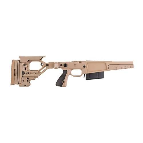 Rem 700 .338 Lapua AX Stage 2 Stock Chassis Pale Brown