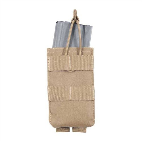 M4/M16 Single Open Top Rifle Pouch, Coyote