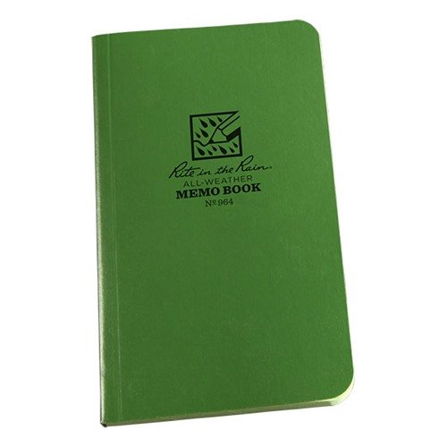 All-Weather Memo Book-Green