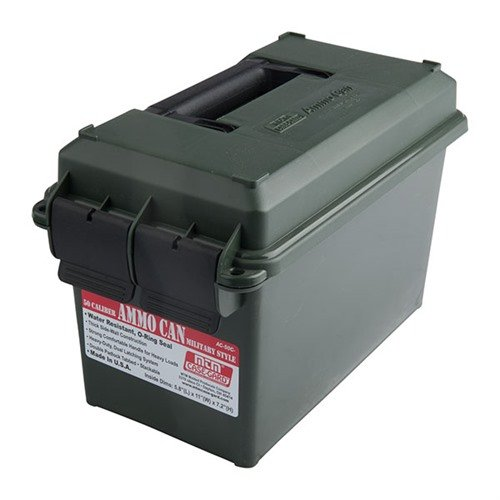 50 Caliber Ammo Can Polymer Green