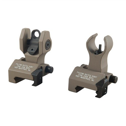AR-15 Flip-Up HK-Style Front Sight Set Dark Earth