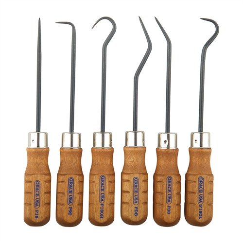 6 Piece Hook and Pick Set