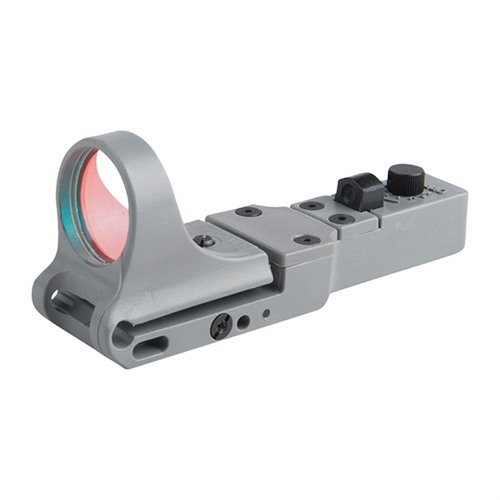 SlideRide Red Dot Sight GRAY 6 MOA Click Switch