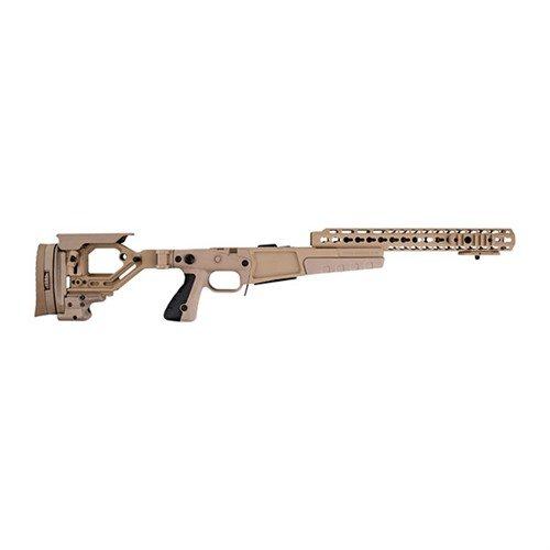 Rem 700 .308 AX Stage 2 Stock  Chassis Polymer FDE