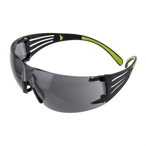 Gray SecureFit Shooting Glasses Black