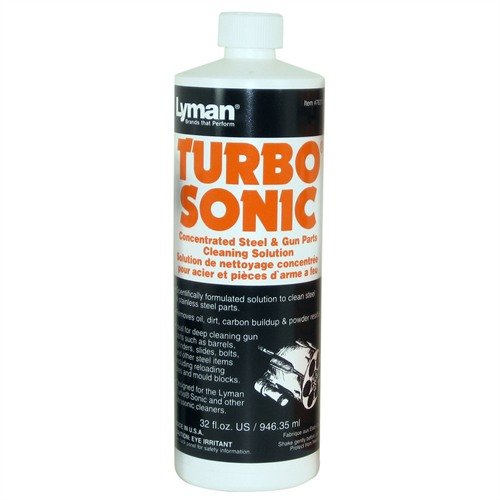 Lyman Turbo Sonic Steel Solution, 32 oz.