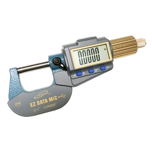 "EZ Data 0-1"" Large Display Micrometer w/Data Output"