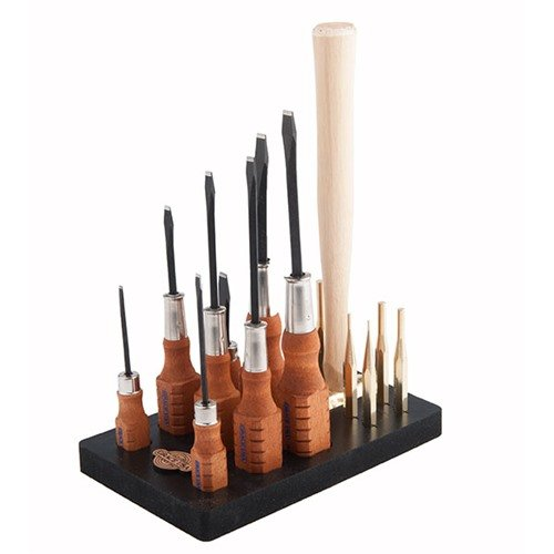 17 Piece Tool Set w/Bench Block