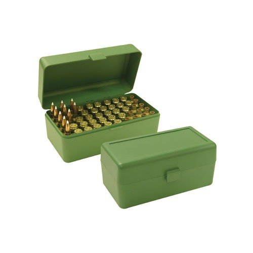 Ammo Boxes Rifle Green 270 WSM- 45-70 Government 50