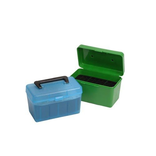 Ammo Boxes Rifle Green 338 Lapua 50