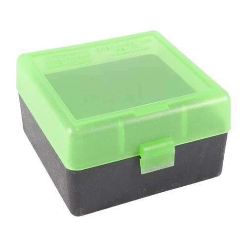 Ammo Boxes Rifle Green & Black 223 Remington 100