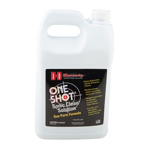 One Shot Sonic Clean Gun Parts Solution, 1 Gal.
