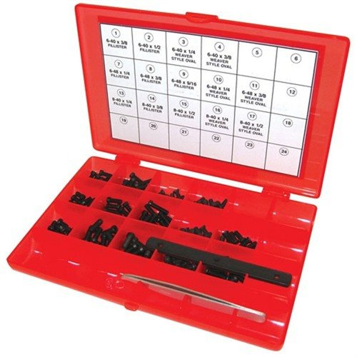 Master Gunsmith Screw Kit-142 Piece Kit