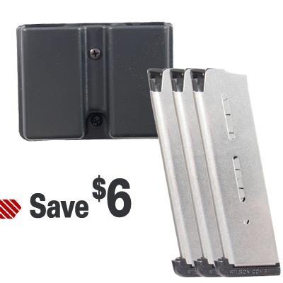 1911 47D 8rd Magazine 3 Pack w/ Mag Pouch